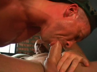 Horny bald cowboy cant wait to thrust himself inside this tight asscrack