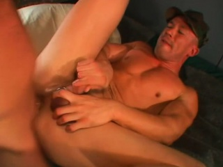 horny bald cowboy can't wait to thrust himself inside this tight asscrack
