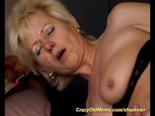 Porn Tube of Blonde Granny With Saggy Tits Gets A Piece Of Latino Cock In Her Virgin Ass