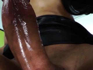 Black shemale barebacks asian ladyboy