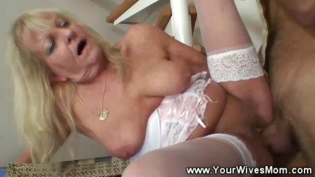 Porno Video of Horny Mature Gets Banged