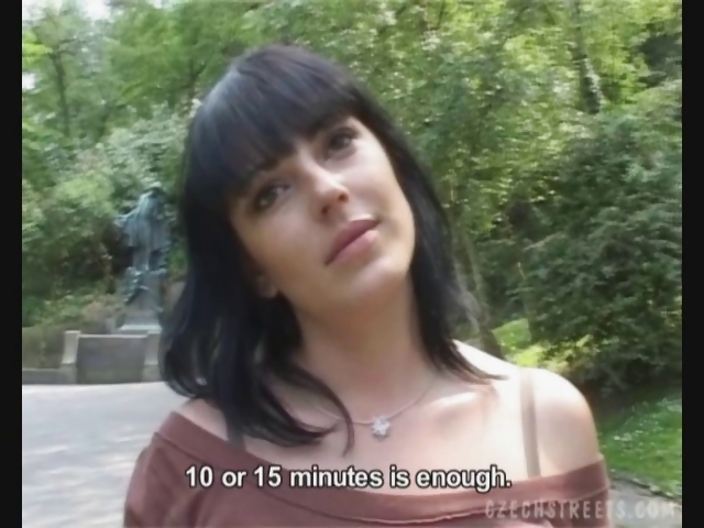 Porno Video of Czech Streets - Martina