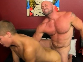 Mature gay sex with boy in 3gp and bearded broke straight po