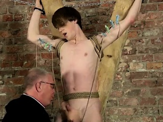 Free male bondage drawings gay Another Sensitive Cock Draine