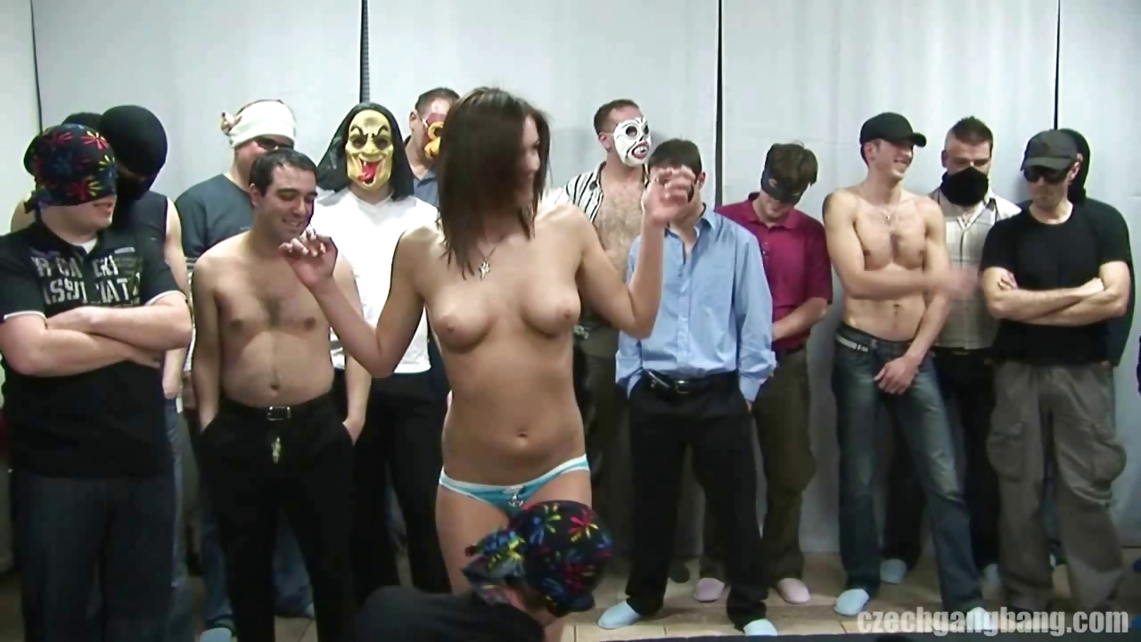 Porno Video of Busty Girl At Czech Gang Bang Party