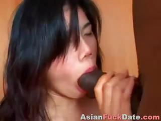 Porno Video of Chinese Girl Is Getting Manhandled By A Big Black Cock In All Holes