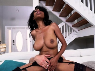 Sexy Ebony Maid Brittney White Screws Her Hung Boss...