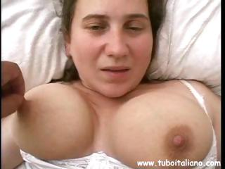 Sex Movie of Amateur Italian Action With Tettona And Porca Sucking Cock, Licking Balls And A Titty Fuck