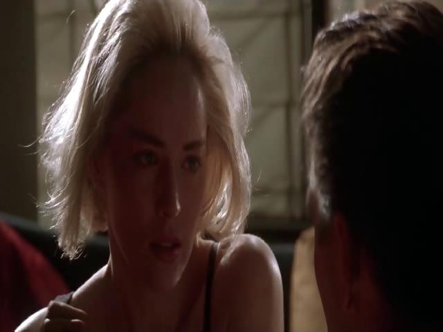 Porn Tube of Sharon Stone - Sliver