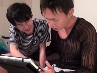 Teen asian gay getting mouth fucked