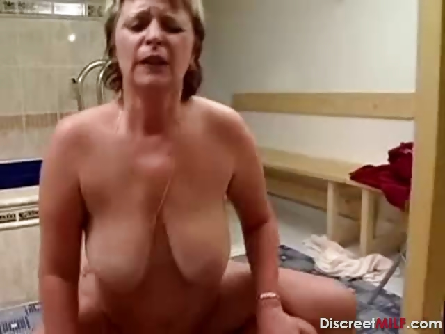 Porno Video of German Grandmother Get Facial