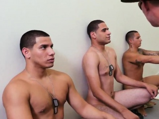 Military men jerking off videos gay Yes Drill Sergeant!