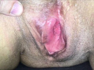 Check Out Her Mature Pussy...