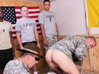 A boy fuck by gay army man Yes Drill Sergeant!