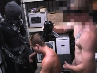 Straight black male jack off video gay Dungeon sir with a gi