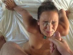 Видео муж слизал спему с пизды