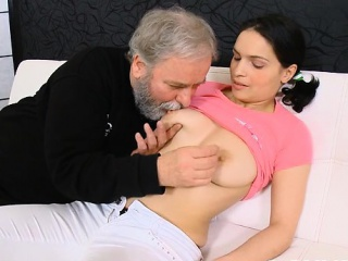 young playgirl gets seduced by a excited old fucker