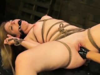 Extreme Scenes Of Fetish Bondage Porn With A Slutty Wife...