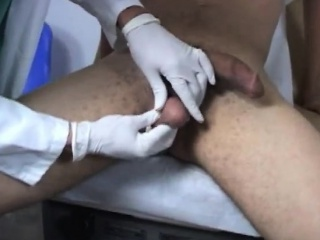 Boys doctors massages gay Pushing another object up my ass,