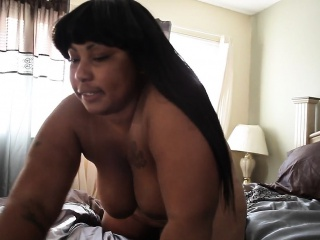 giant booty bbw strip tease voncile from 1fuckdatecom