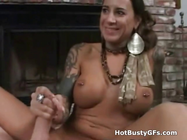 Porno Video of Juicy Big Tits Pov Handjob