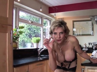 unfaithful english milf lady sonia reveals her giant tits