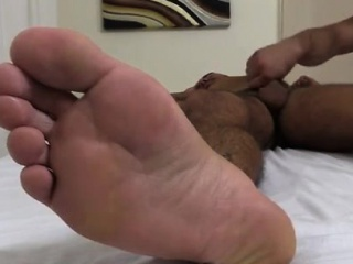 Feet men gay sexy hairy usa Johnny Hazard Worshiped & Jerked