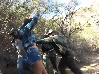 Police arrest teen and fake cop 1 girl 2 cops xxx Kayla West