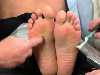 Gay army men lick feet Gordon Bound & Tickle d
