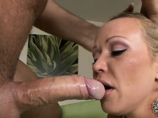 hot sweethearts mouth is full of ejaculation after fellatio