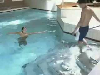 Porn Tube of At The Swimming Pool