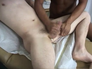 Physical exam military videos gay xxx Cleaning up, we both w