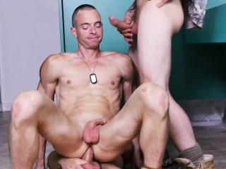 Navy boys gay sex naked movie Good Anal Training