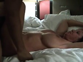 Warm White Mature Spouse with Coffee-Milk Black Stud