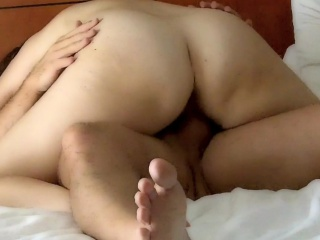 my wife cleans my dick after anal