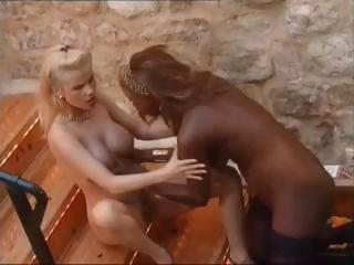 Porn Tube of Gina Wild And Ebony Pussy