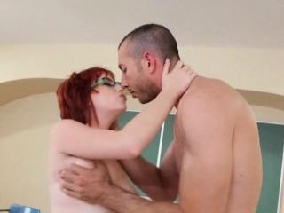 Image Nice Tits Redhead Student Sucks And Fucks Zoey Nixon