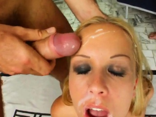 facial group cumshots for jessica moor on cum for cover in