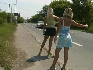 Porno Video of Hitchhiker Chicks