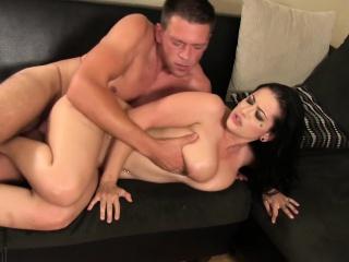 foxy katrina jade trades oral sex before he slams in his prick
