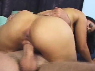 busty asian hottie jessica gets drilled and sucks out his man juice