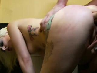 slutty blonde sex bomb does anal