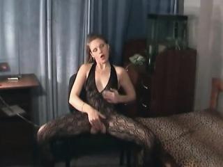 open crotch bodystocking masturbation