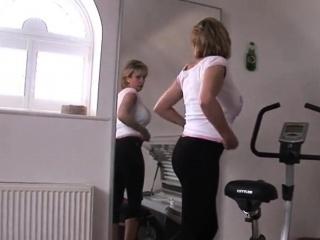 unfaithful british milf lady sonia showcases her giant breas