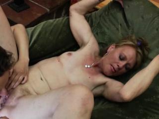 mature seductive mum fucks amatory aaron from 1fuckdatecom