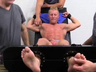 British gay male foot tube Johnny Gets Tickled Naked