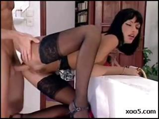 Porno Video of Busty Brunette Anita Blonde Is A Maid That Gets Drilled By Her Boss