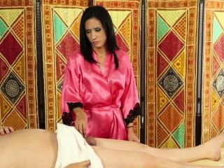 masseuse with tiny tits
