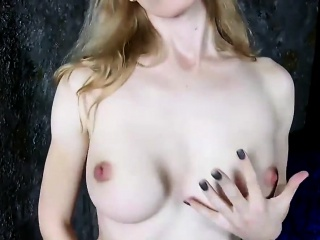 Dreamy Russian transexual toys her fine ass