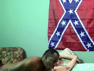 Hot black stallion Joe getting it hard from Aiden and Eric
